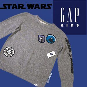 NWT Gap Kids Disney/Star Wars Gray Sweatshirt